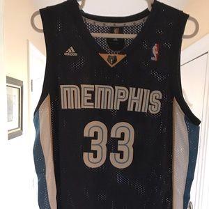 Marc Gasol Memphis Grizzlies Jersey XL